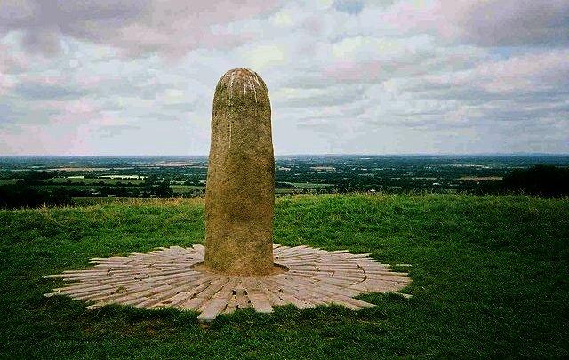 """""""Stone of Destiny"""", Tara, Ireland"""